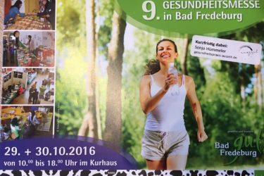 Gesundheitsmesse im Oktober 2016